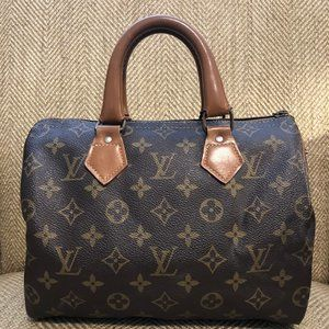 Louis Vuitton Speedy 25 by the French Company 1989
